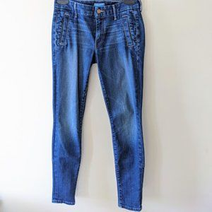 MOTHER Zip Welt Muse Skinny Ankle Jeans Size 26